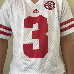Adidas Nebraska huskies football jersey